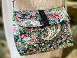 Sac YANG, à porter en bandoulière ou à la ceinture – Fleuri