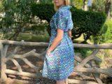 Robe Caroline Liberty of London – Indie blue