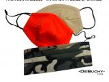 Pack de 3 masques – Variation #1 Kit Beige et Orange