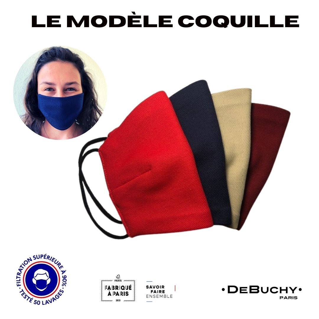 Coquille 2-DeBUCHY-filtration sup 90% - 50 lavages